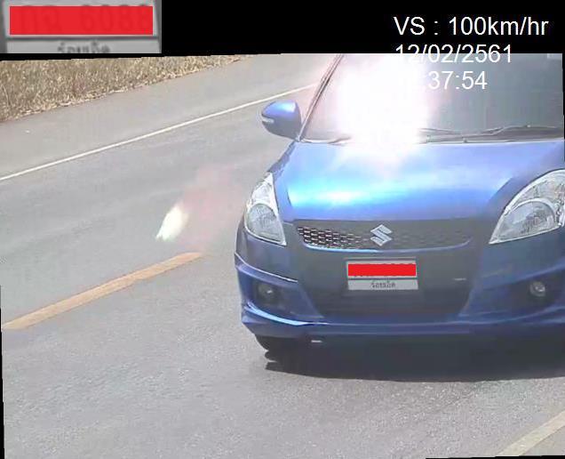 ระบบตรวจจับความเร็วรถ